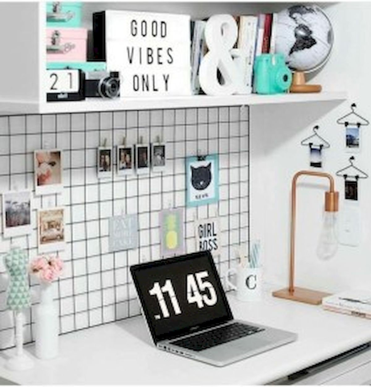 45 Adorable Home Office Decoration Ideas (19)