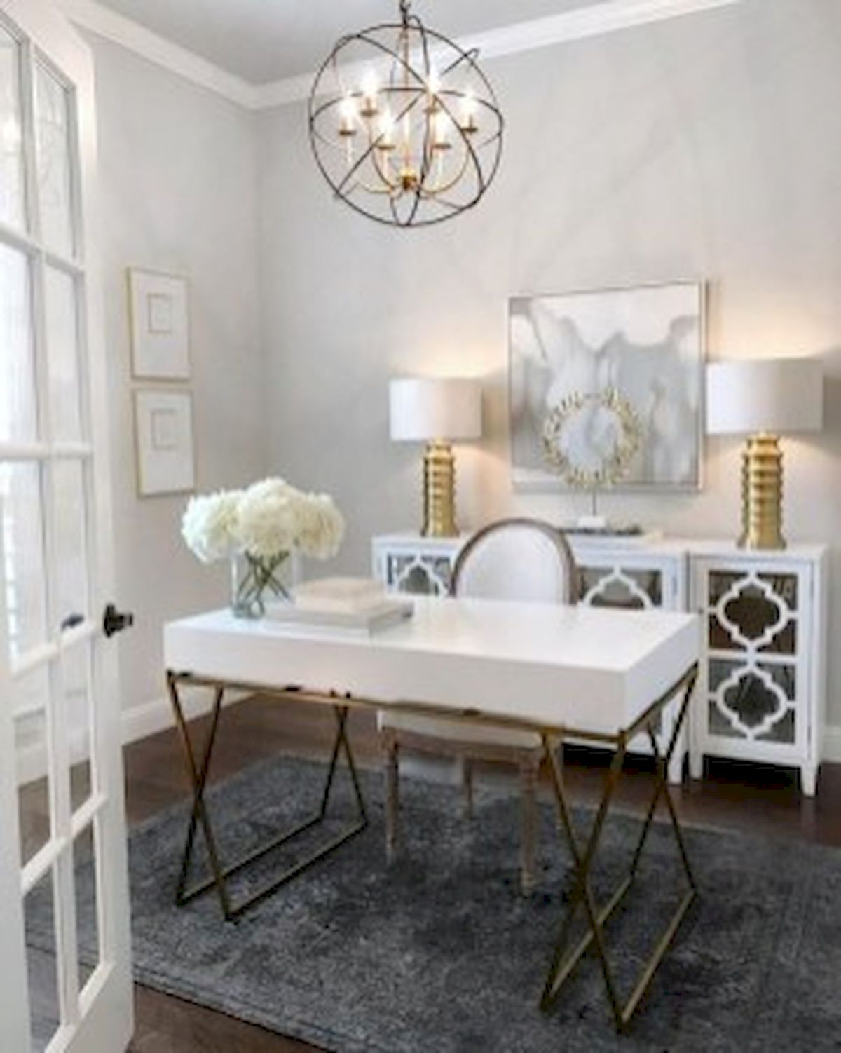 45 Adorable Home Office Decoration Ideas (2)