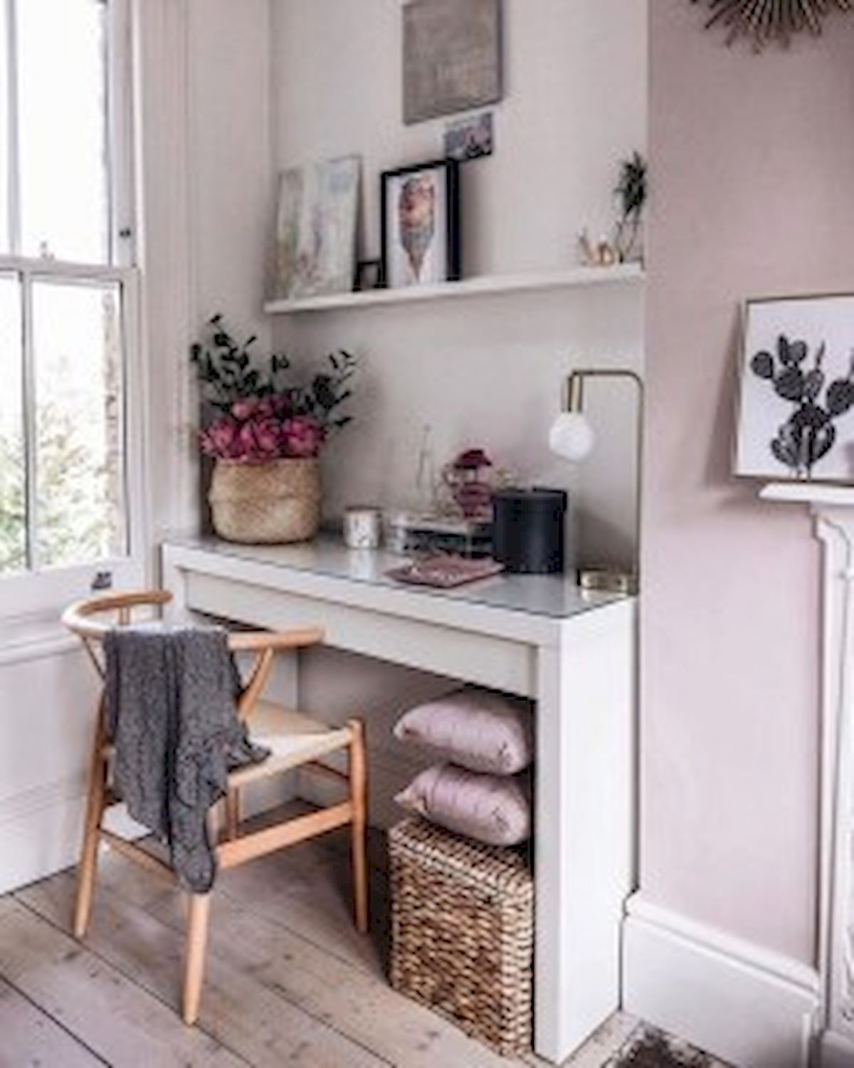 45 Adorable Home Office Decoration Ideas (20)