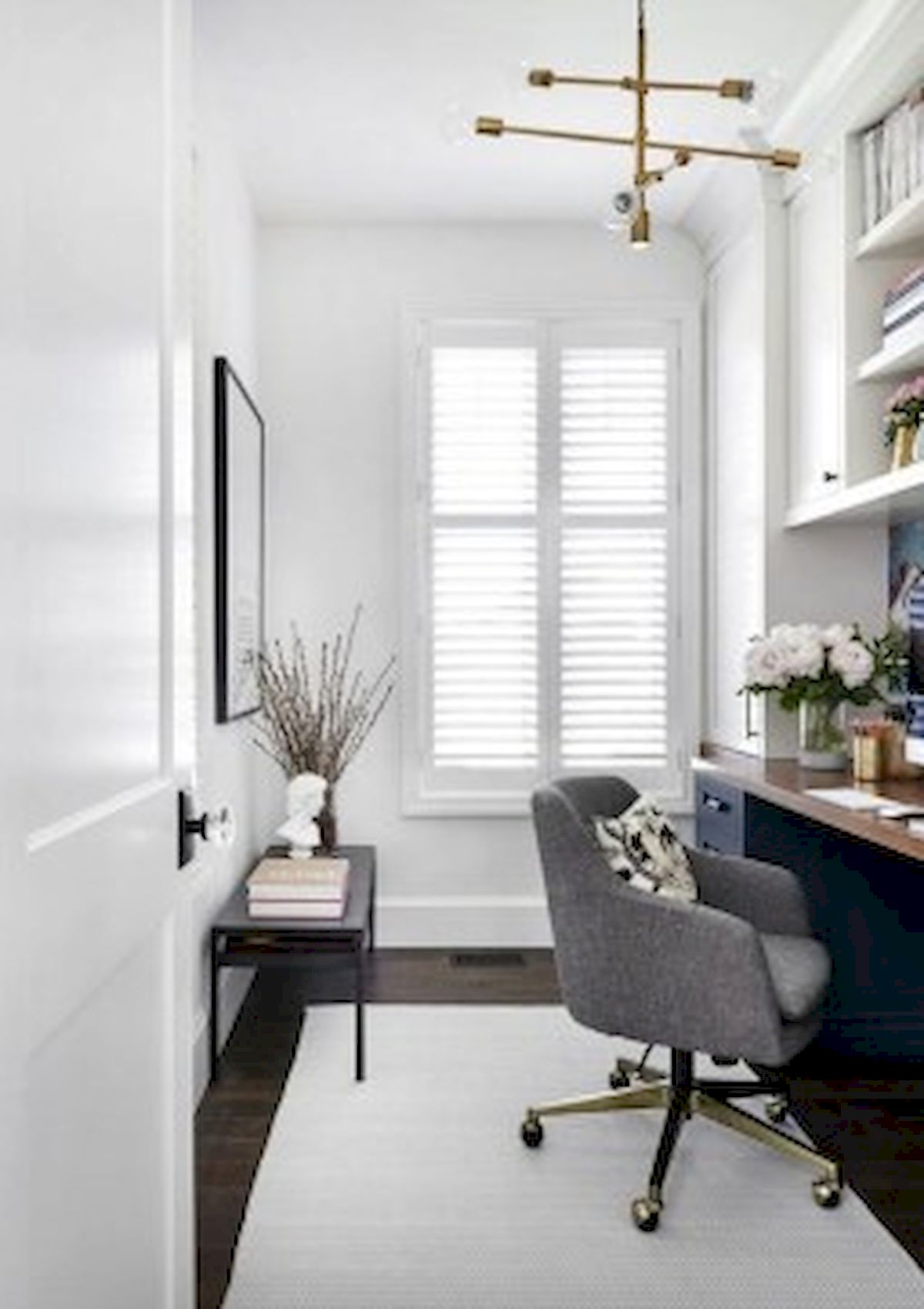 45 Adorable Home Office Decoration Ideas (28)