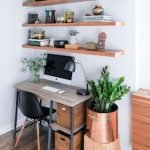 45 Adorable Home Office Decoration Ideas (30)