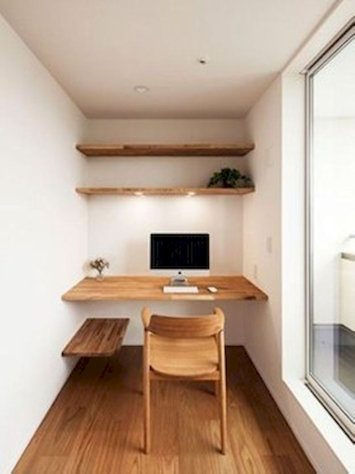45 Adorable Home Office Decoration Ideas (31)
