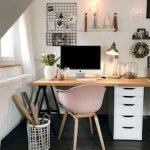 45 Adorable Home Office Decoration Ideas (35)