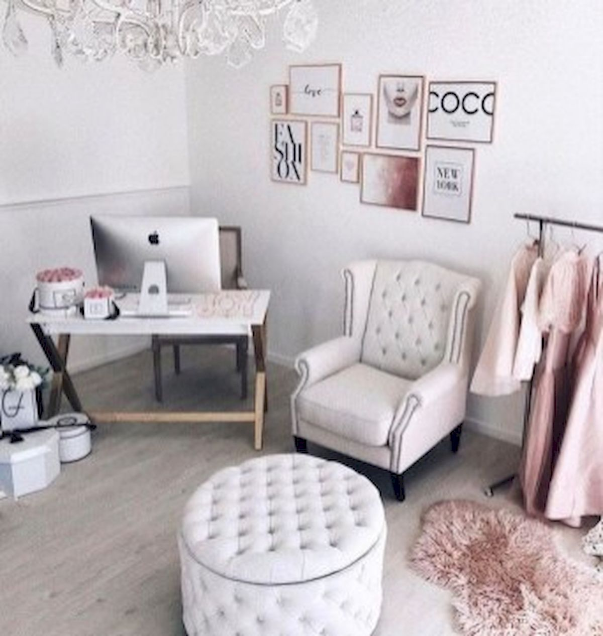 45 Adorable Home Office Decoration Ideas (37)