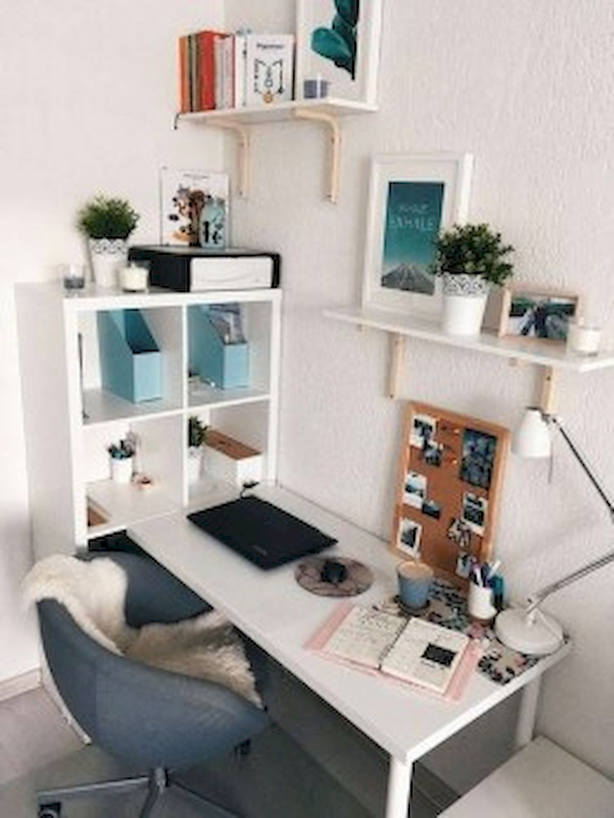45 Adorable Home Office Decoration Ideas (4)