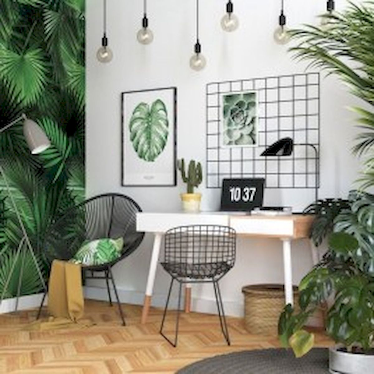 45 Adorable Home Office Decoration Ideas (40)