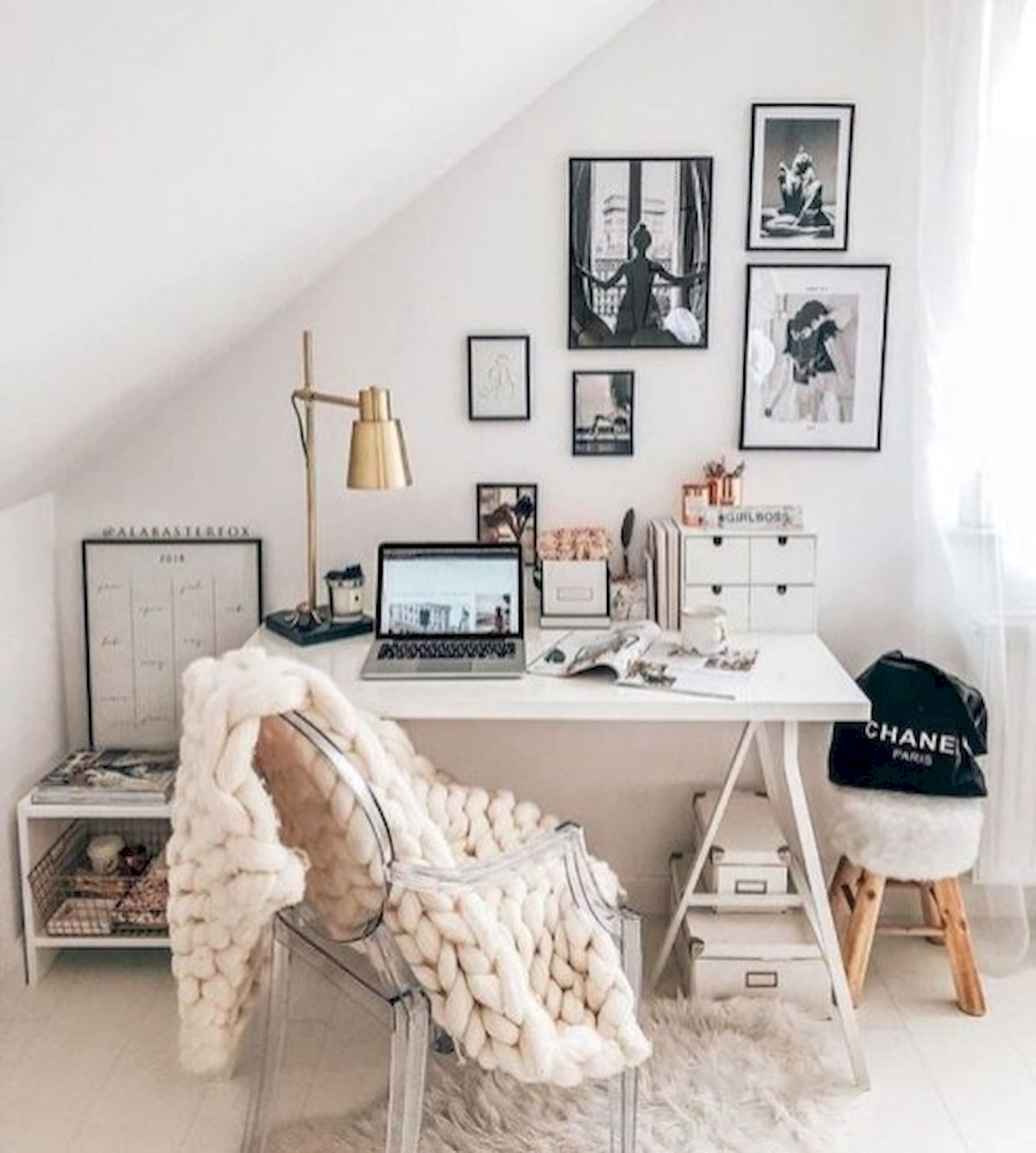 45 Adorable Home Office Decoration Ideas (43)