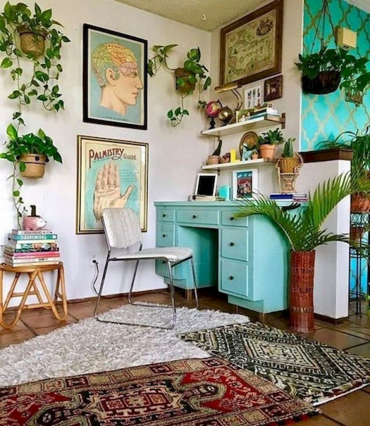 45 Adorable Home Office Decoration Ideas (45)