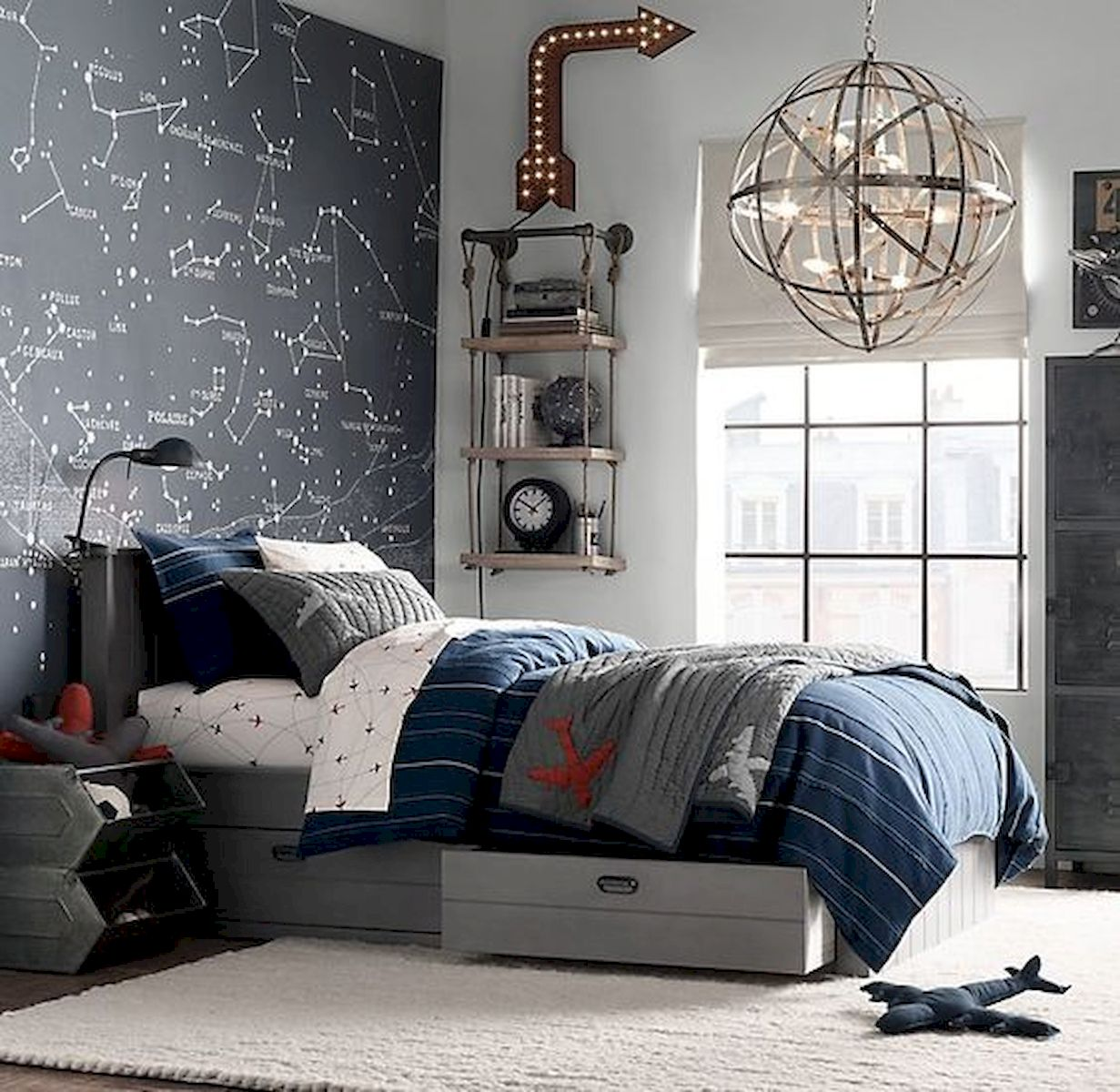 45 Cool Boys Bedroom Ideas to Try at Home (19)