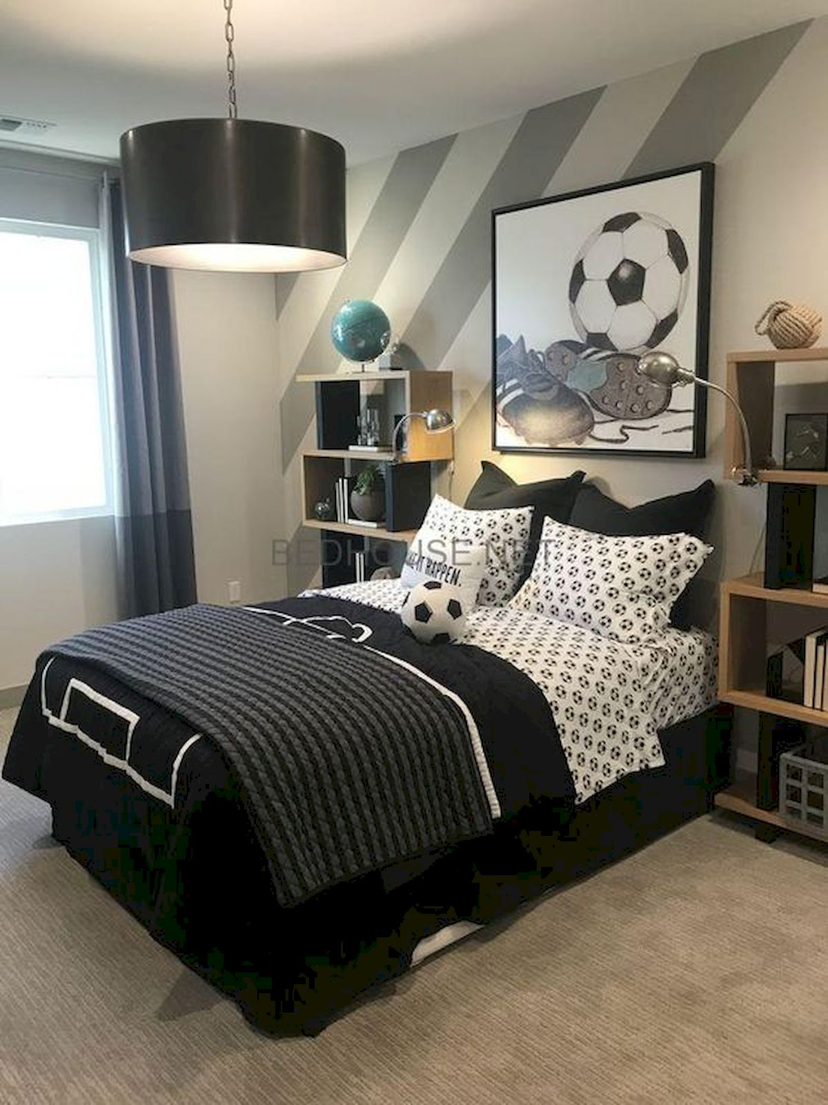 45 Cool Boys Bedroom Ideas to Try at Home (31)