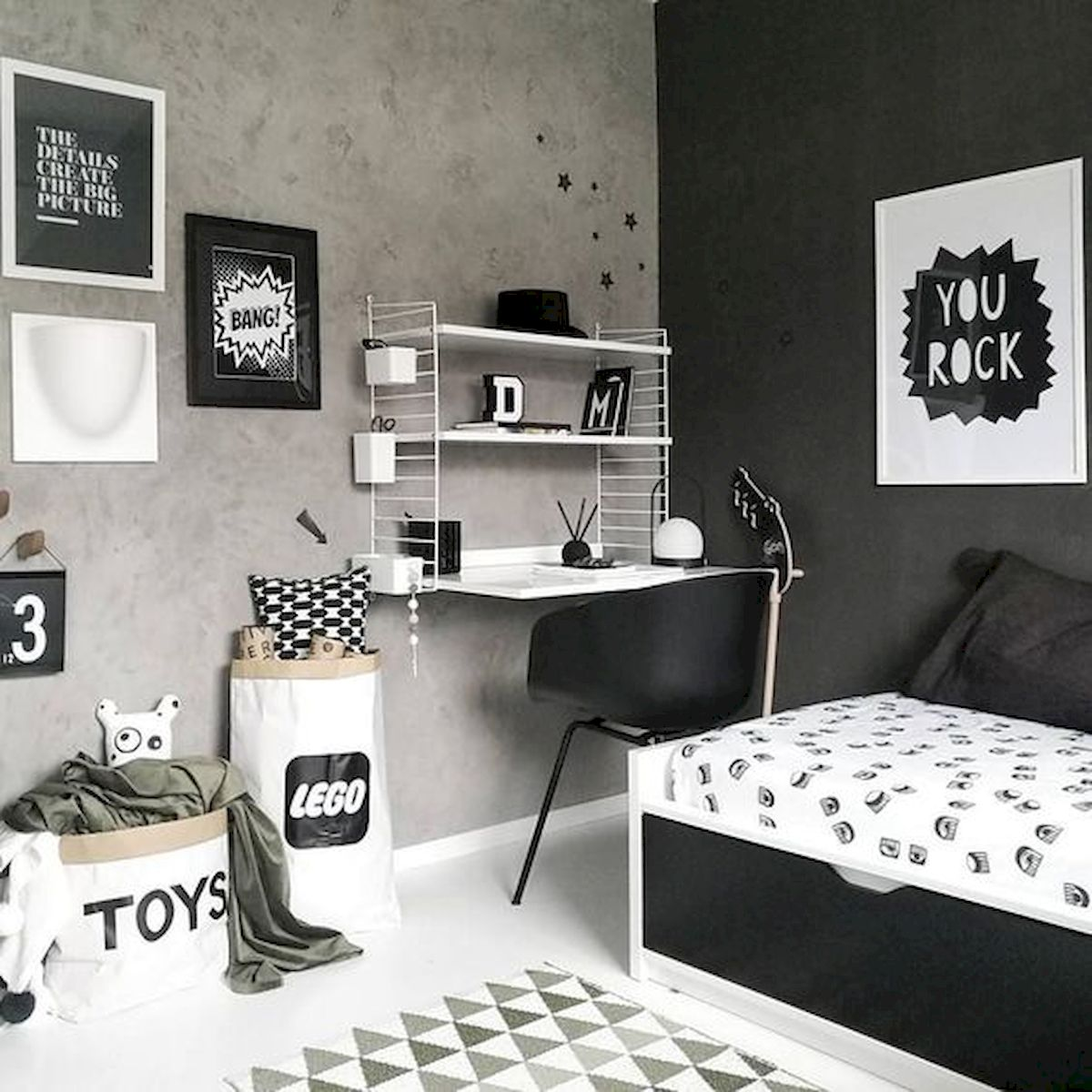 45 Cool Boys Bedroom Ideas to Try at Home (40)