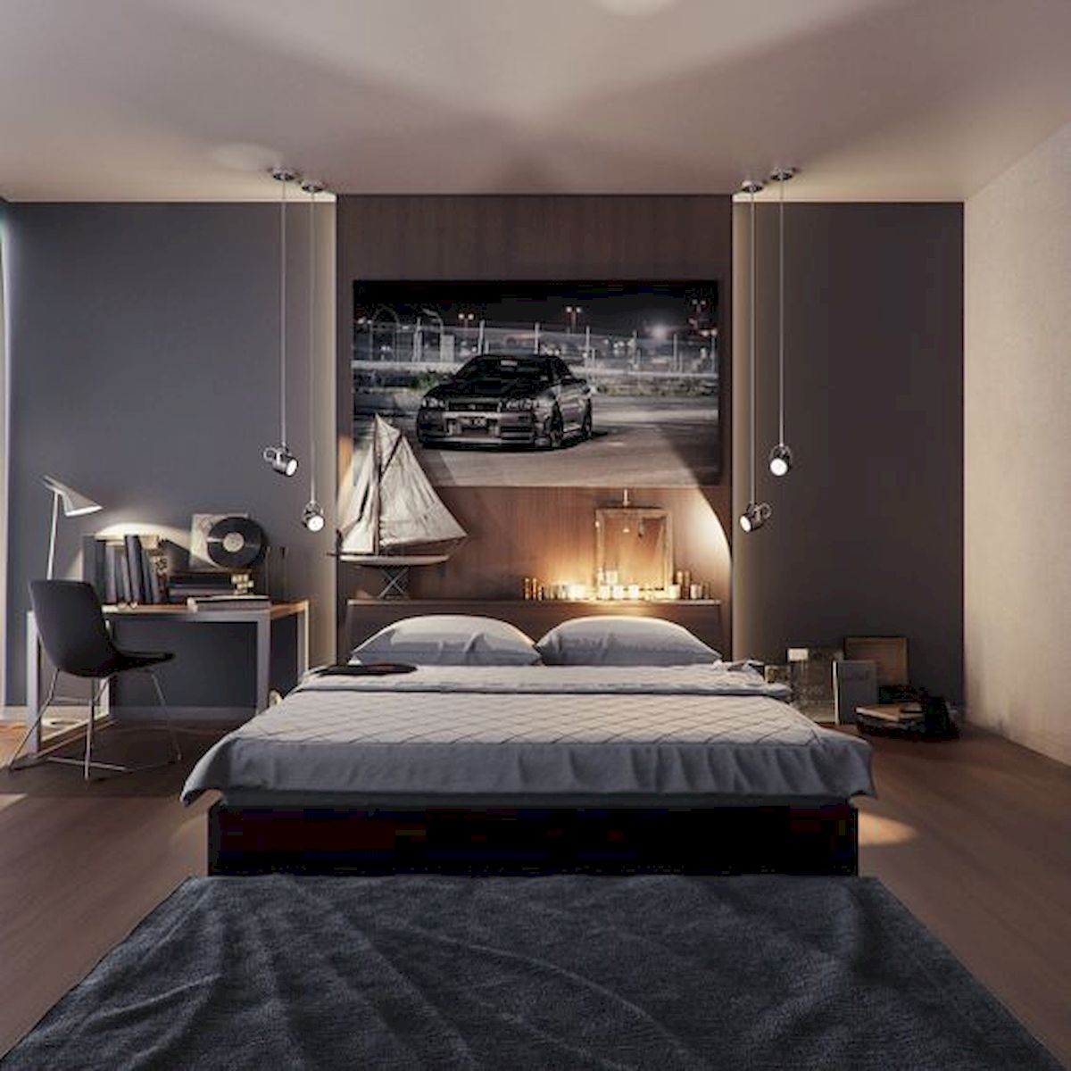 45 Cool Boys Bedroom Ideas to Try at Home (41)