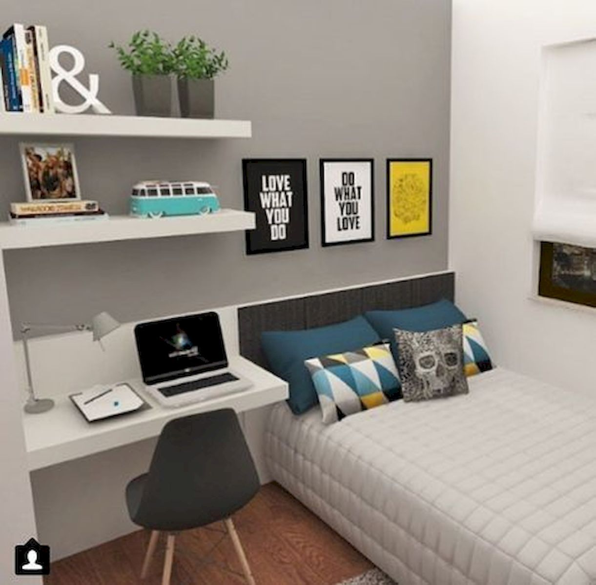 45 Cool Boys Bedroom Ideas to Try at Home (44)