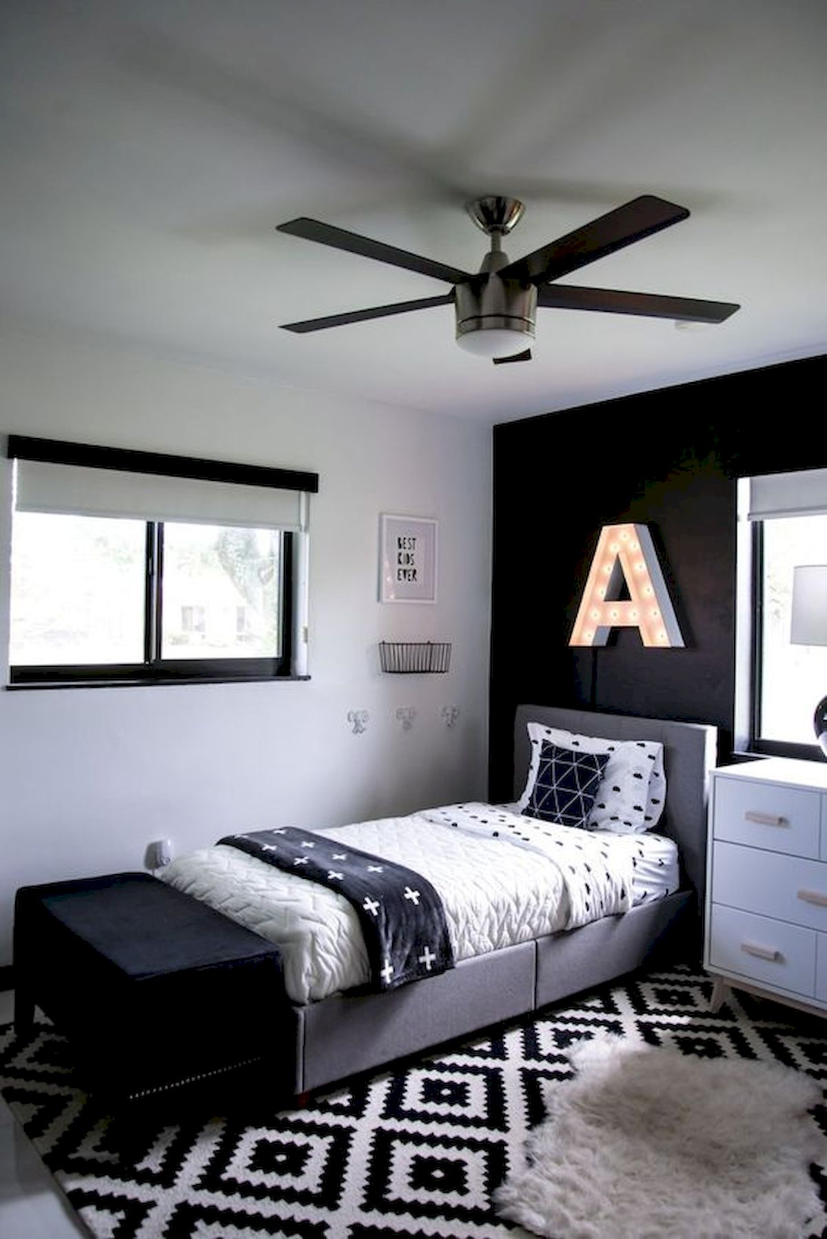 45 Cool Boys Bedroom Ideas to Try at Home (5)