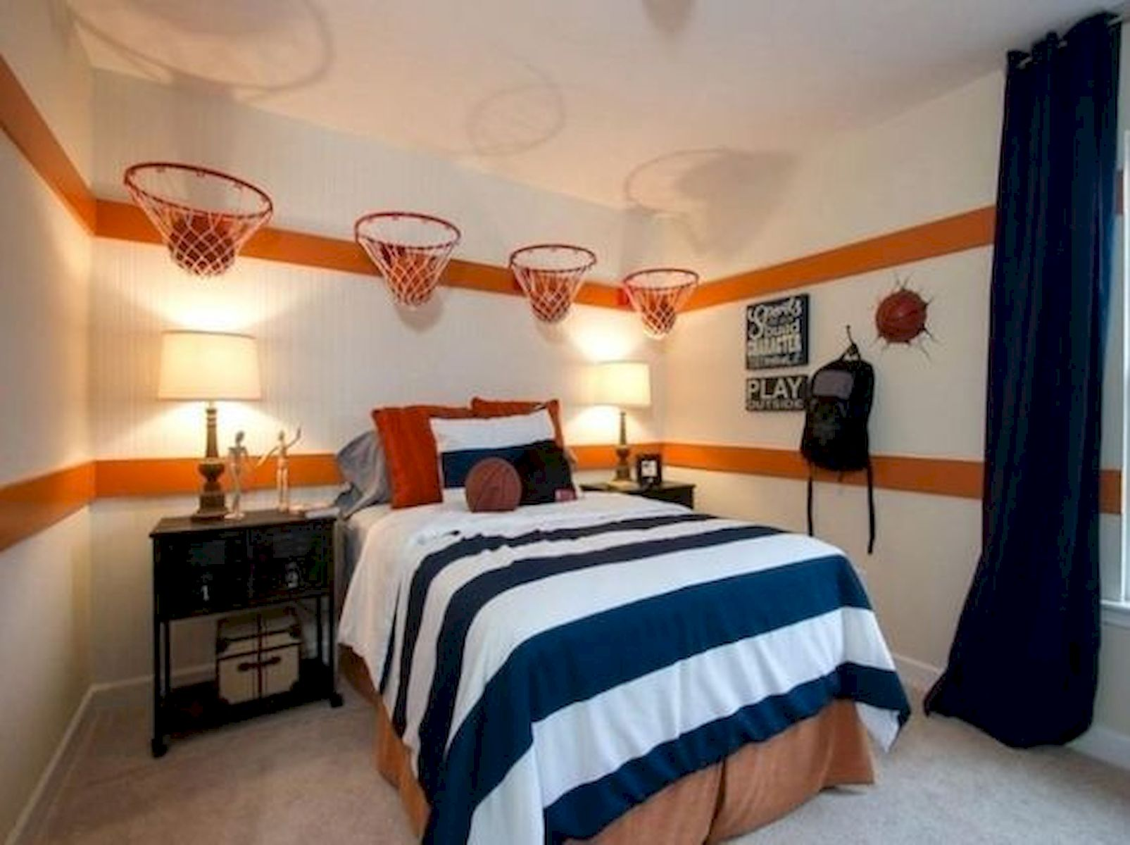 45 Cool Boys Bedroom Ideas to Try at Home (6)