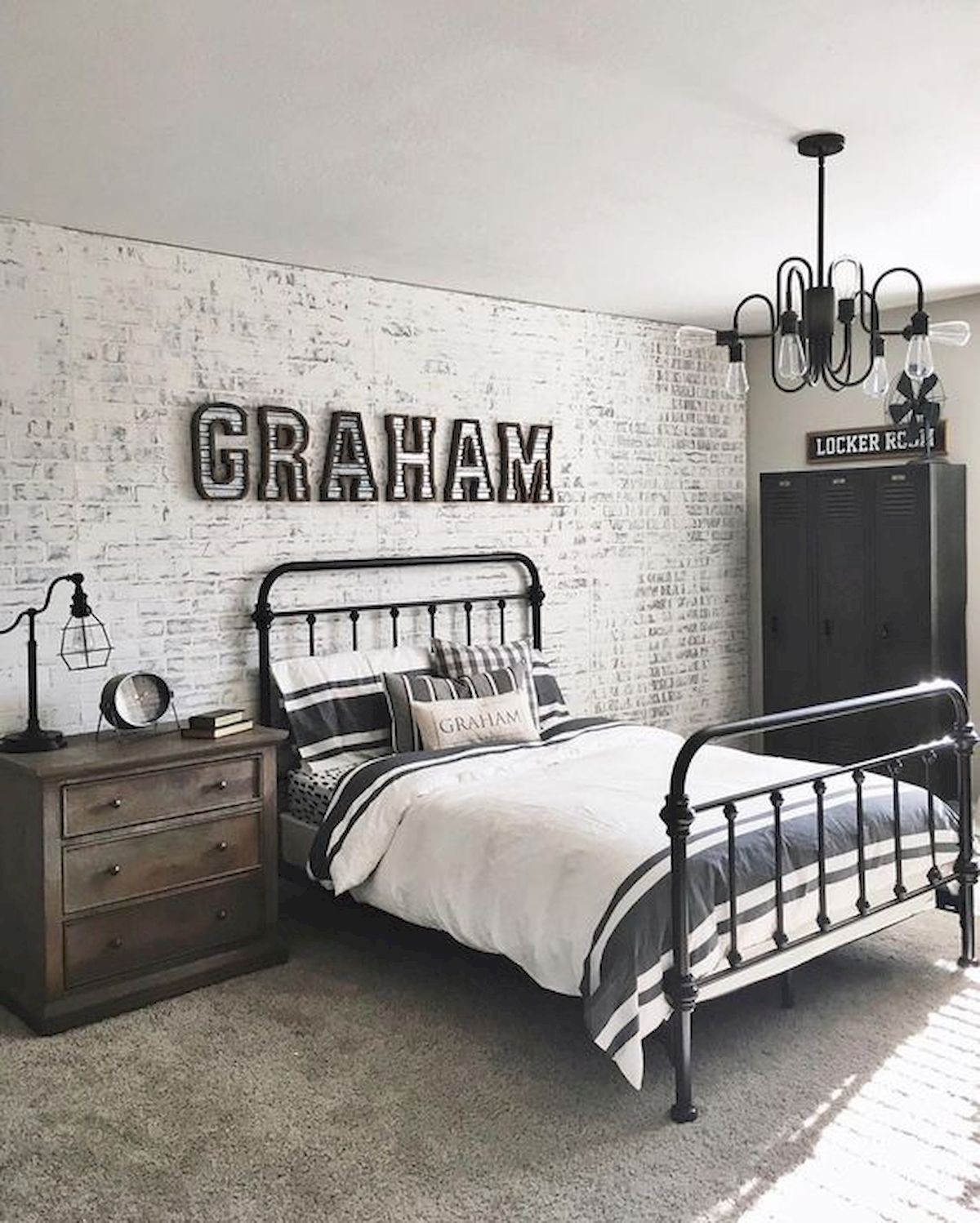45 Cool Boys Bedroom Ideas to Try at Home (8)