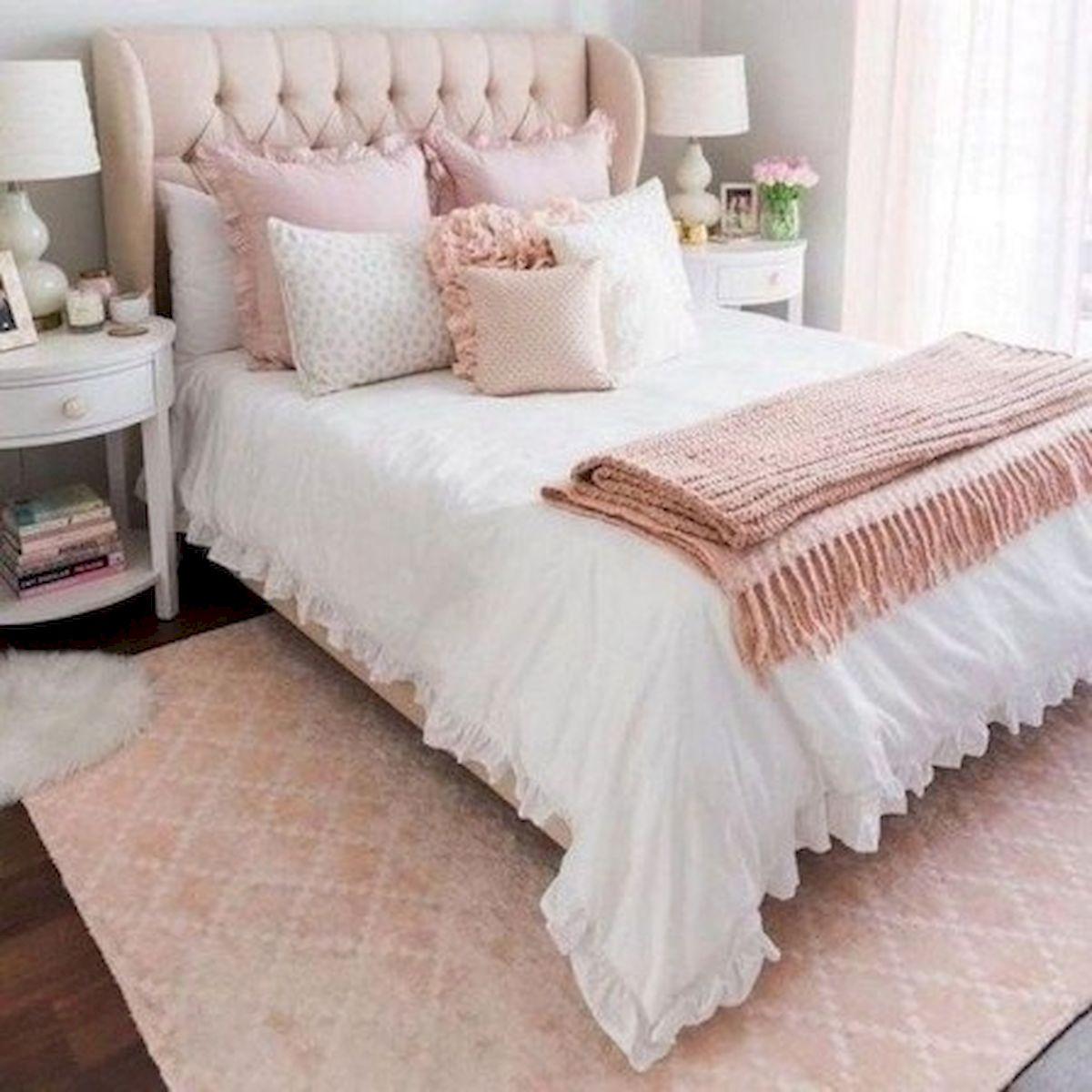 45 Cute Pink Bedroom Design Ideas (10)