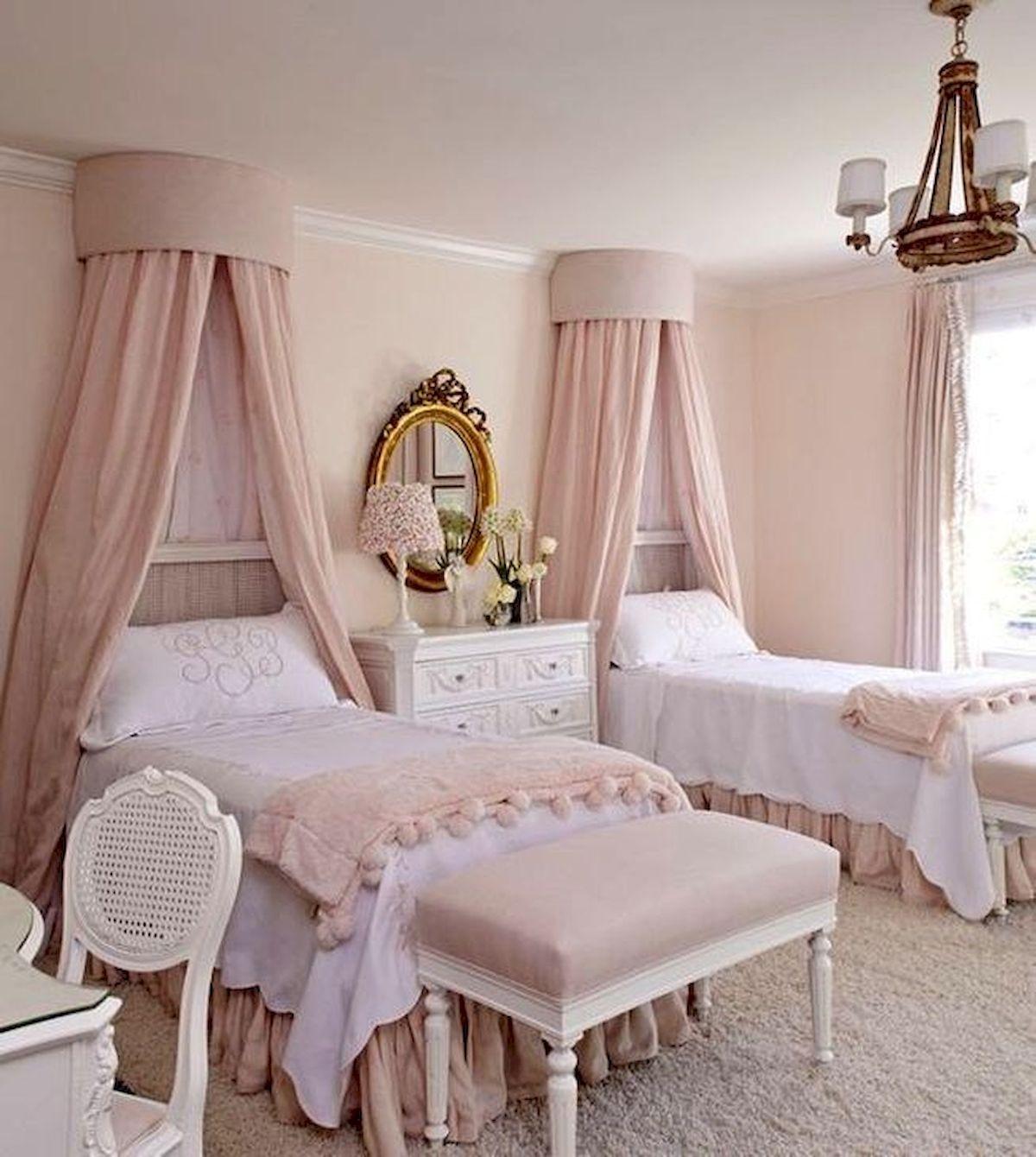 45 Cute Pink Bedroom Design Ideas (11)
