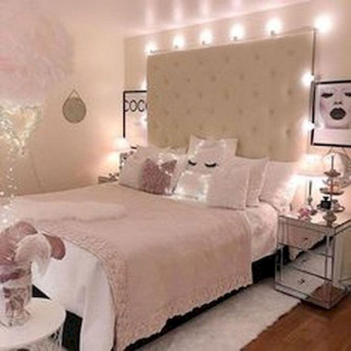 45 Cute Pink Bedroom Design Ideas (19)