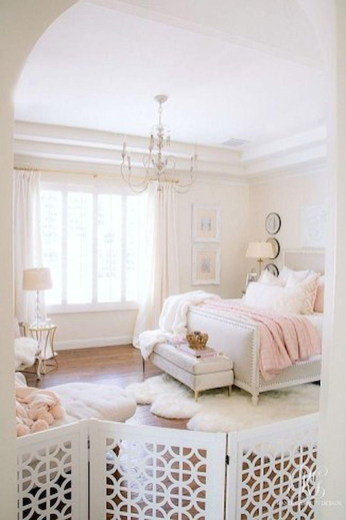 45 Cute Pink Bedroom Design Ideas (26)