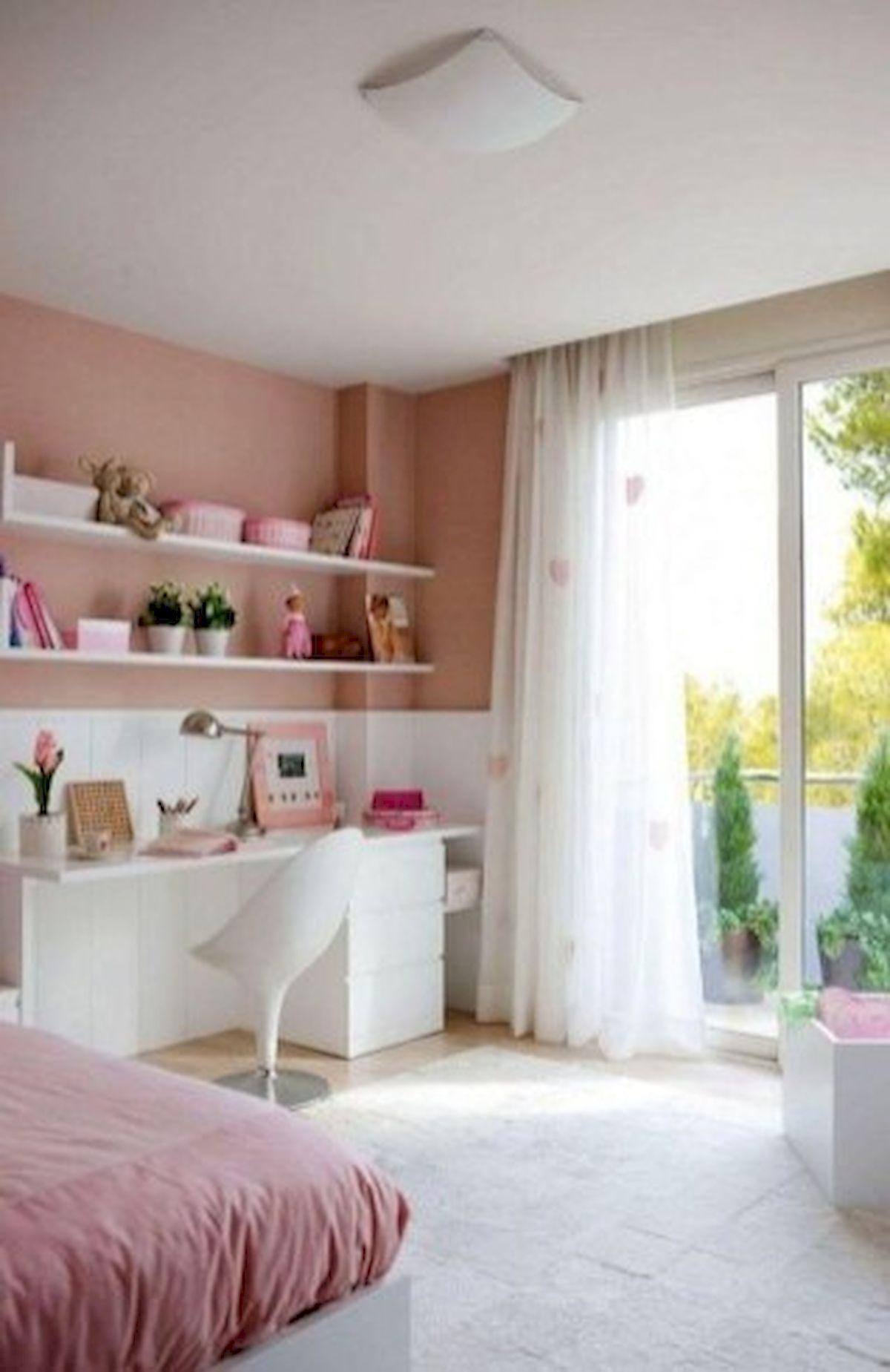 45 Cute Pink Bedroom Design Ideas (27)
