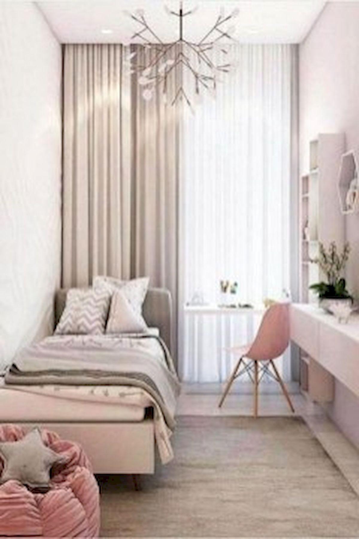 45 Cute Pink Bedroom Design Ideas (30)