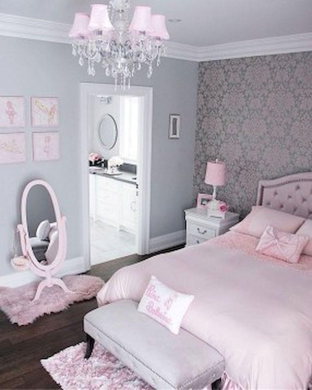 45 Cute Pink Bedroom Design Ideas (32)