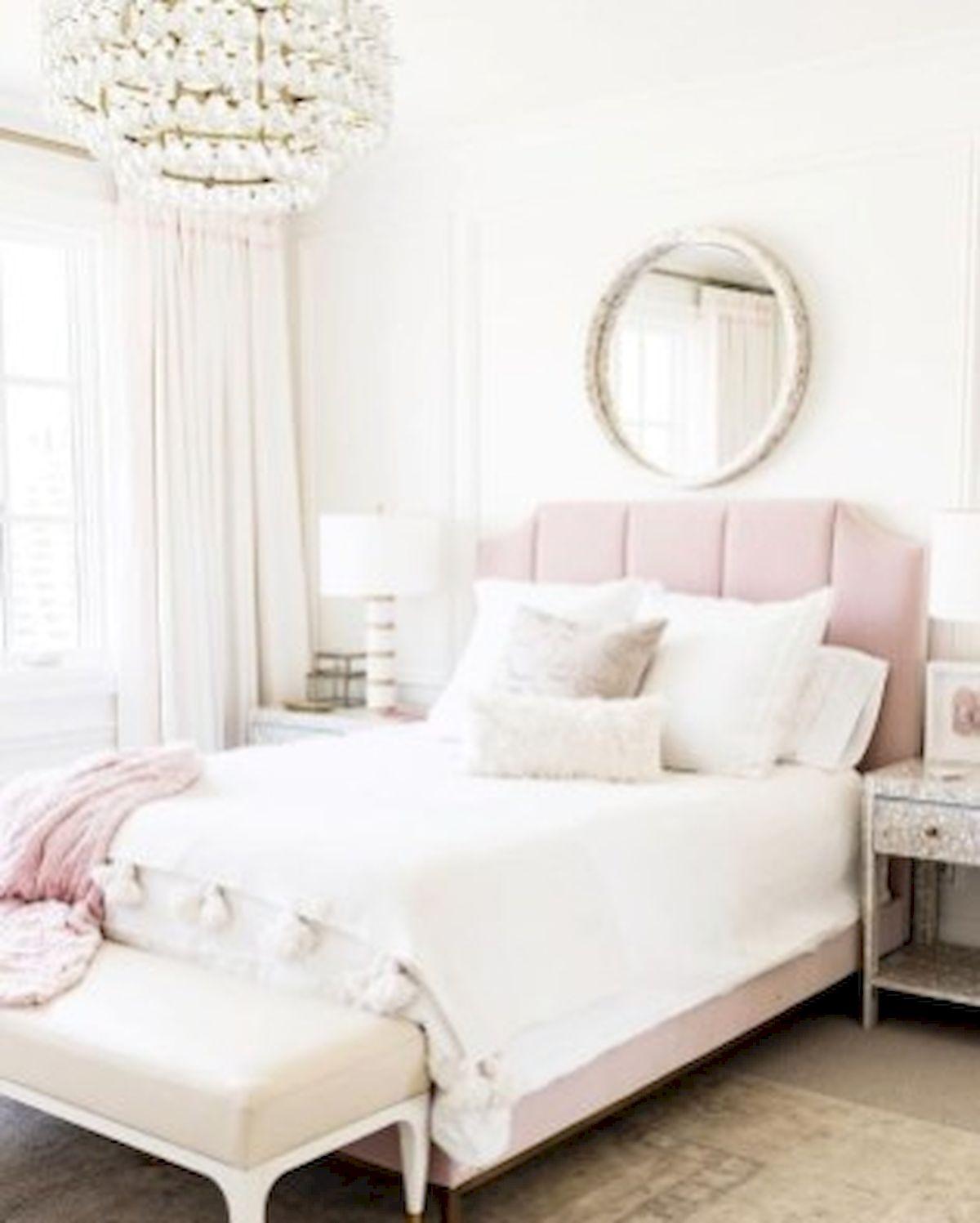 45 Cute Pink Bedroom Design Ideas (38)