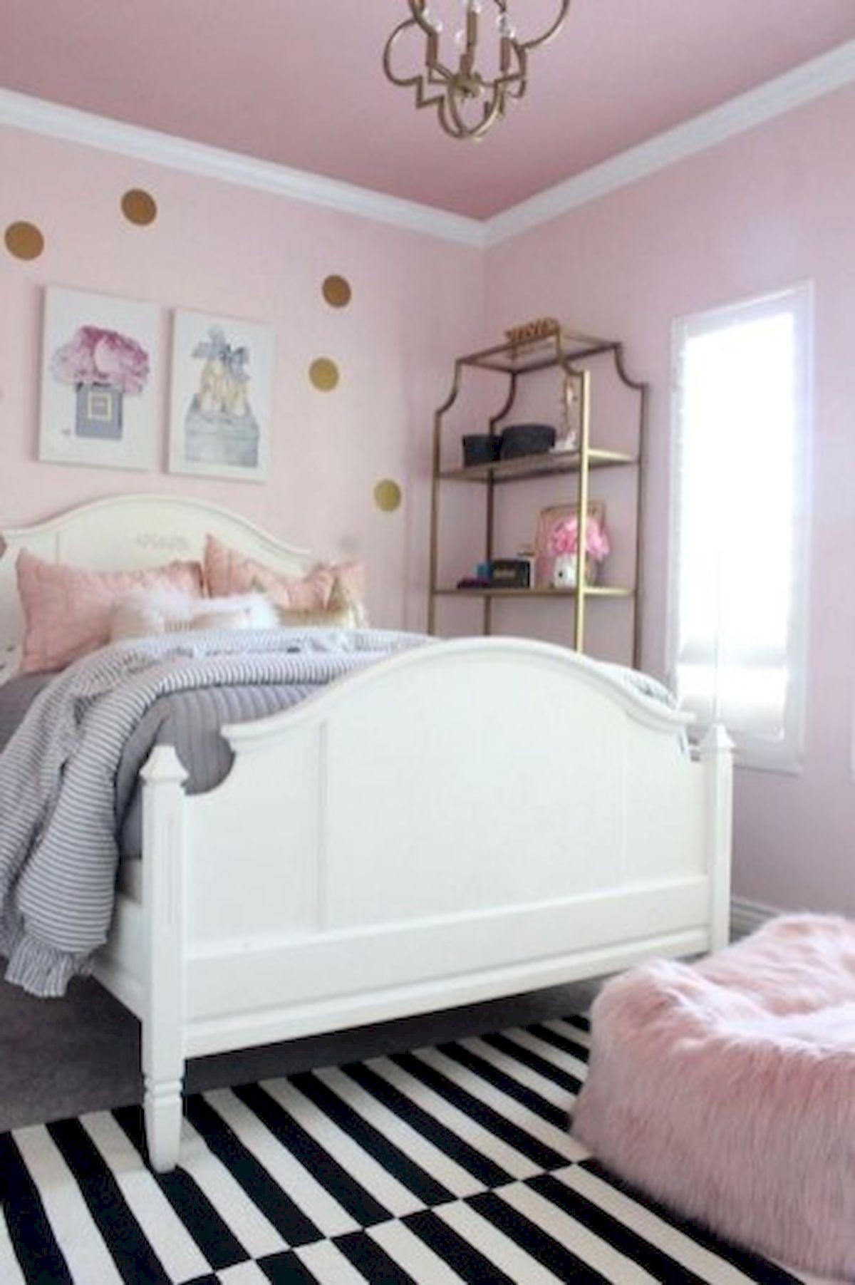 45 Cute Pink Bedroom Design Ideas (44)