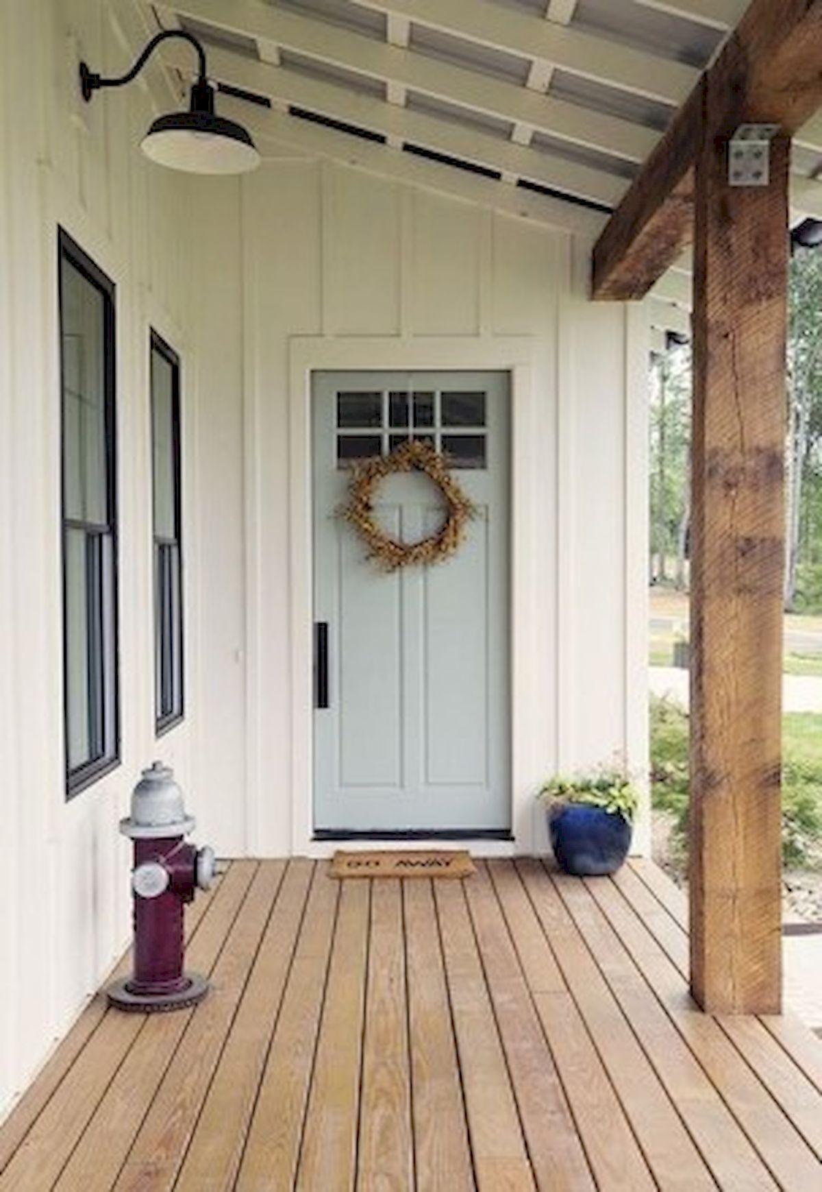 46 Awesome Farmhouse Home Exterior Design Ideas (11)