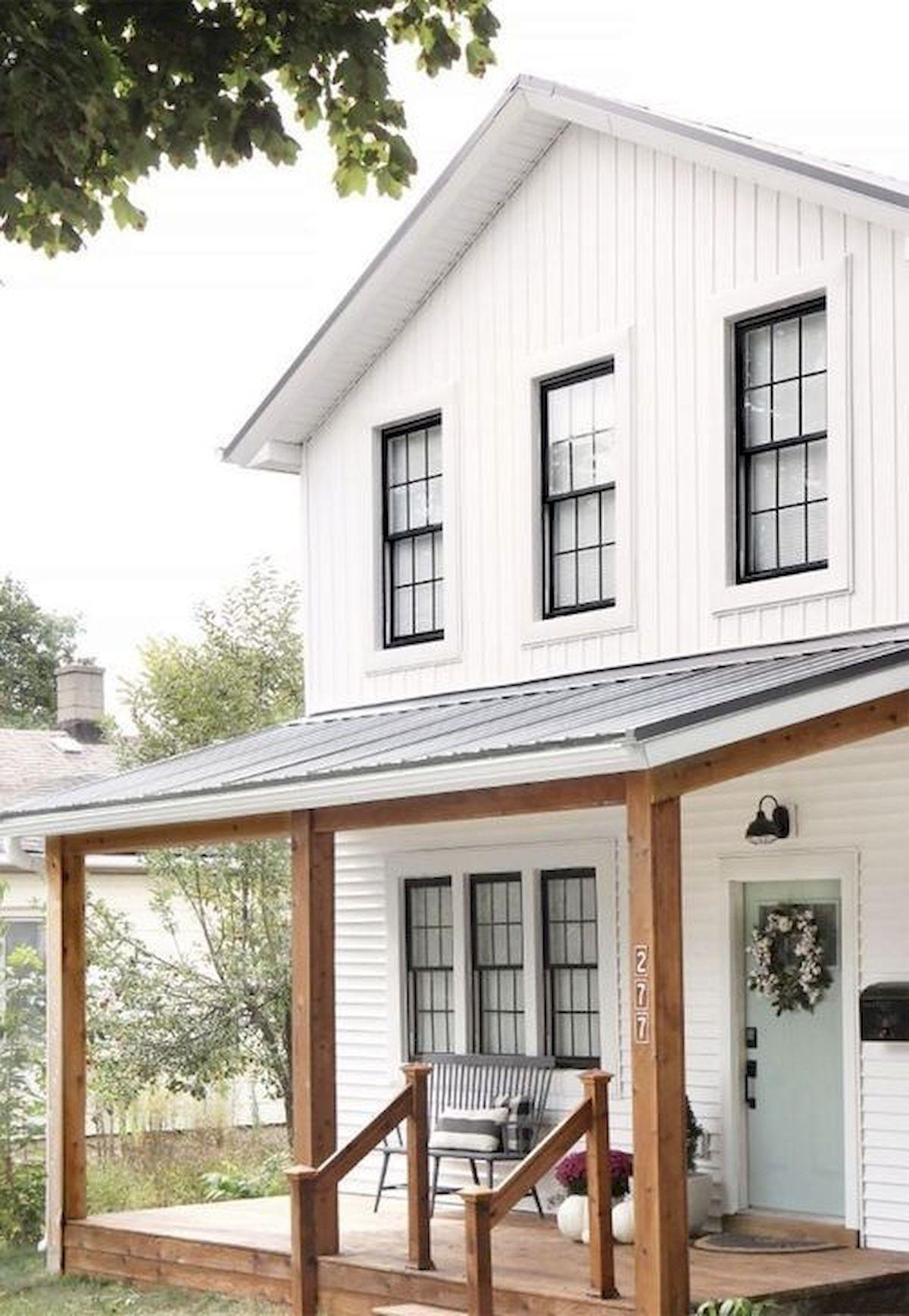 46 Awesome Farmhouse Home Exterior Design Ideas (14)