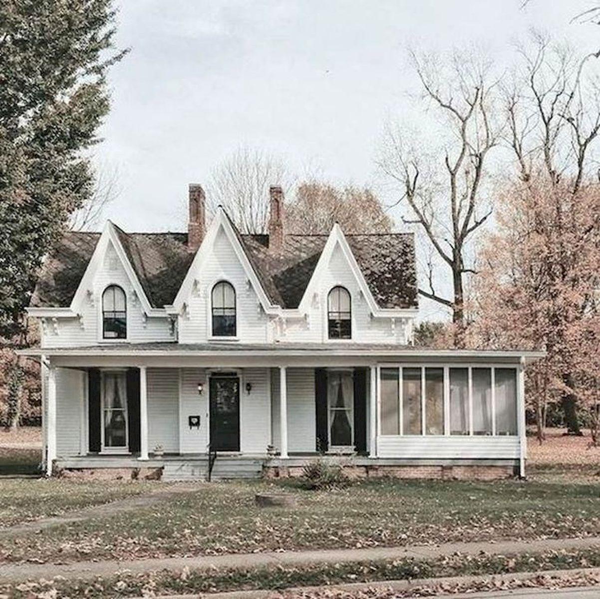 46 Awesome Farmhouse Home Exterior Design Ideas (25)