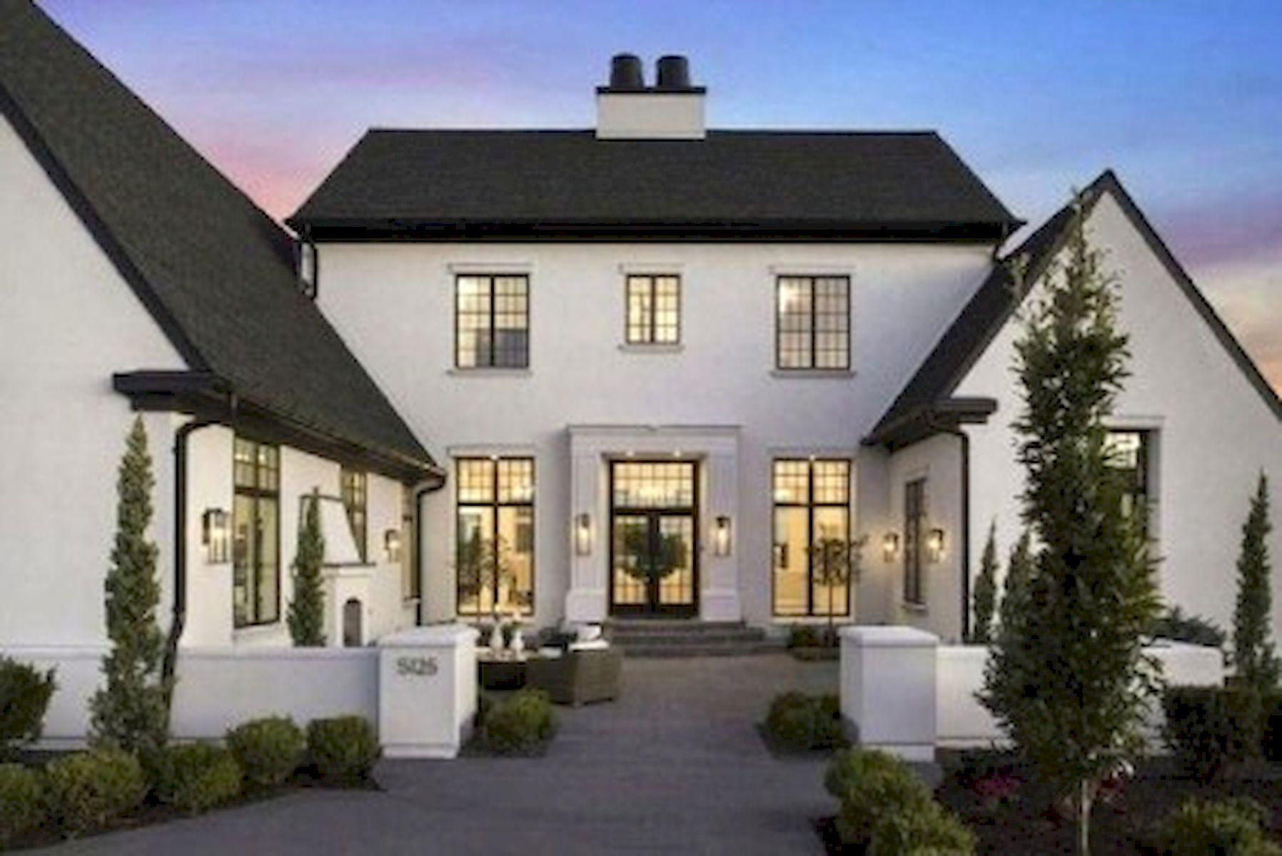 46 Awesome Farmhouse Home Exterior Design Ideas (45)