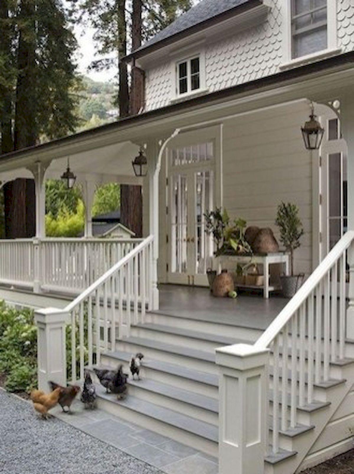 46 Awesome Farmhouse Home Exterior Design Ideas (9)
