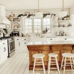 50 Cozy Farmhouse Kitchen Design and Decor Ideas (12)