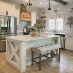 50 Cozy Farmhouse Kitchen Design and Decor Ideas (17)