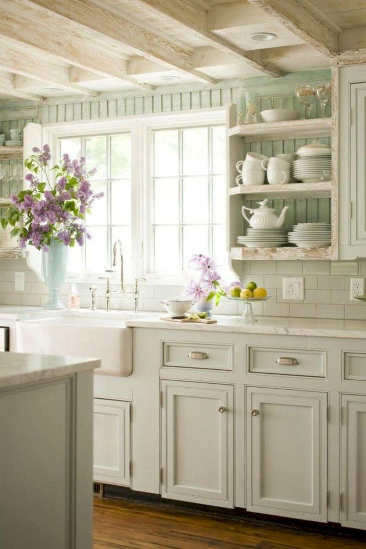 50 Cozy Farmhouse Kitchen Design And Decor Ideas (2)