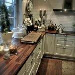 50 Cozy Farmhouse Kitchen Design and Decor Ideas (26)