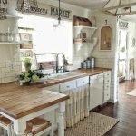 50 Cozy Farmhouse Kitchen Design and Decor Ideas (32)