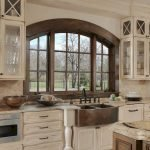 50 Cozy Farmhouse Kitchen Design and Decor Ideas (38)