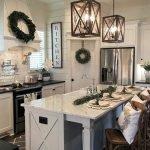 50 Cozy Farmhouse Kitchen Design and Decor Ideas (4)