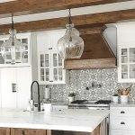 50 Cozy Farmhouse Kitchen Design and Decor Ideas (46)