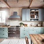 50 Cozy Farmhouse Kitchen Design and Decor Ideas (47)