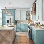 50 Cozy Farmhouse Kitchen Design and Decor Ideas (5)