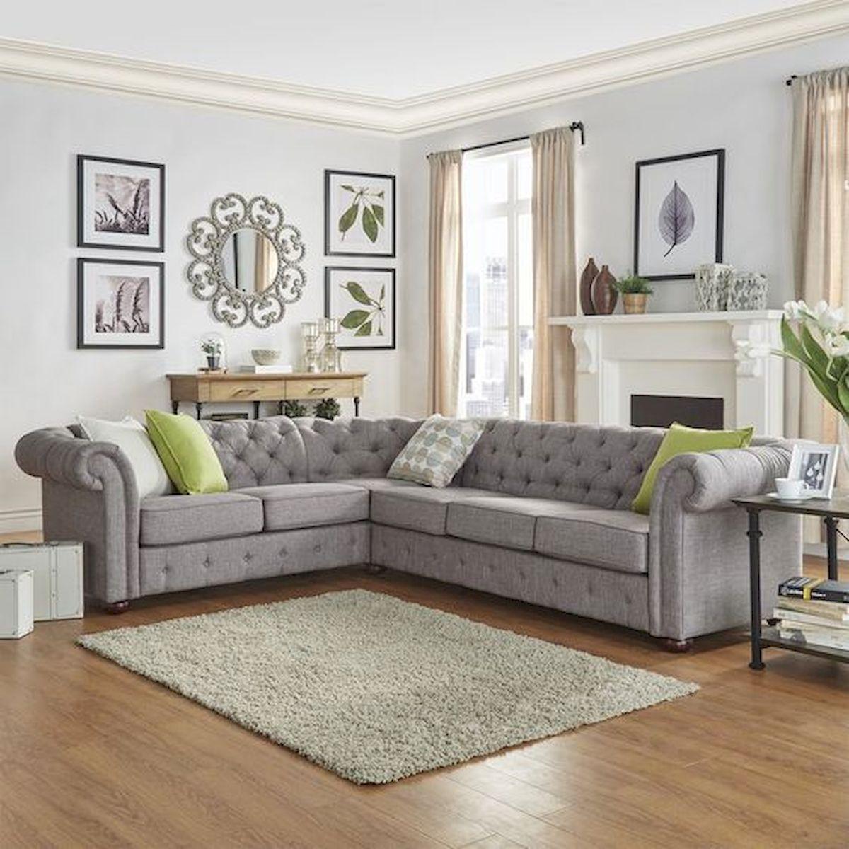 50 Cozy Farmhouse Living Room Design and Decor Ideas (15)