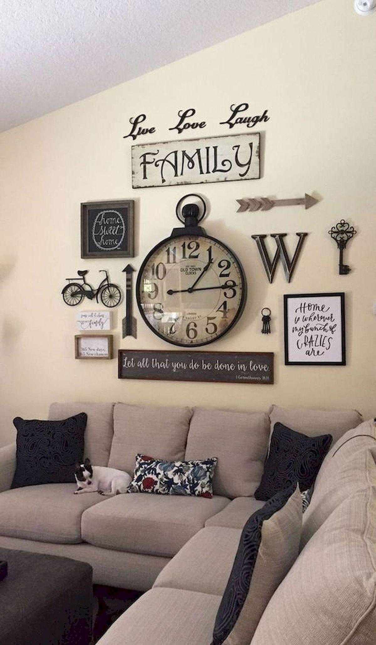 50 Cozy Farmhouse Living Room Design and Decor Ideas (16)