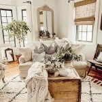 50 Cozy Farmhouse Living Room Design And Decor Ideas (17)