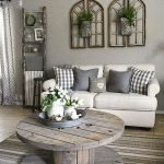 50 Cozy Farmhouse Living Room Design And Decor Ideas (2)
