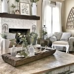 50 Cozy Farmhouse Living Room Design And Decor Ideas (23)