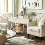 50 Cozy Farmhouse Living Room Design And Decor Ideas (29)